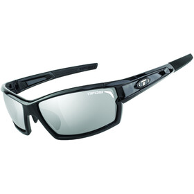 Tifosi Escalate FH Glasses Herren gloss black - smoke/ac red/clear